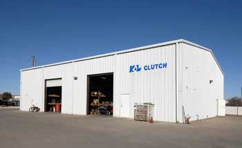 Mechanic's building at K & L Clutch and Transmission