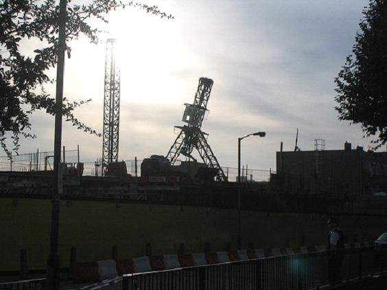 Crane collapse in Battersea kills Two