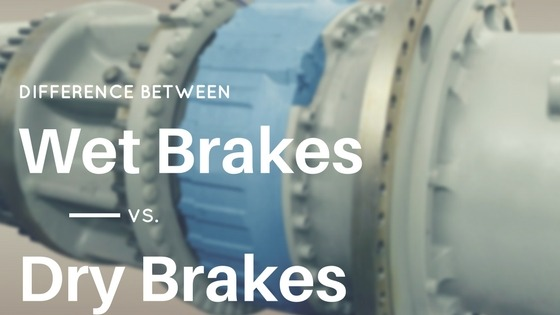 wet brakes aka oil cooling brakes